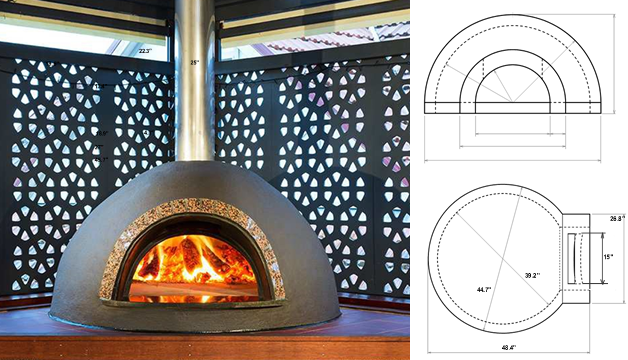 Pizza Oven Top